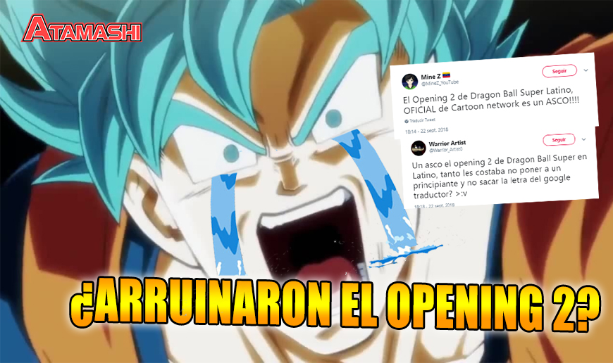 fans furiosos con cartoon network por arruinar el opening 2 latino