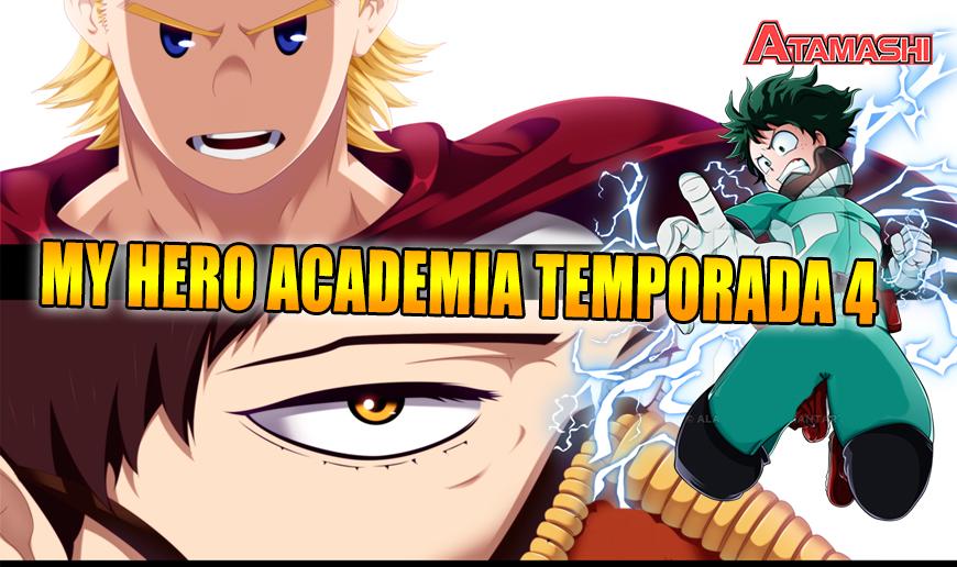 My Hero Academia Temporada 4 ¿Cuándo saldrá la continuación más ...