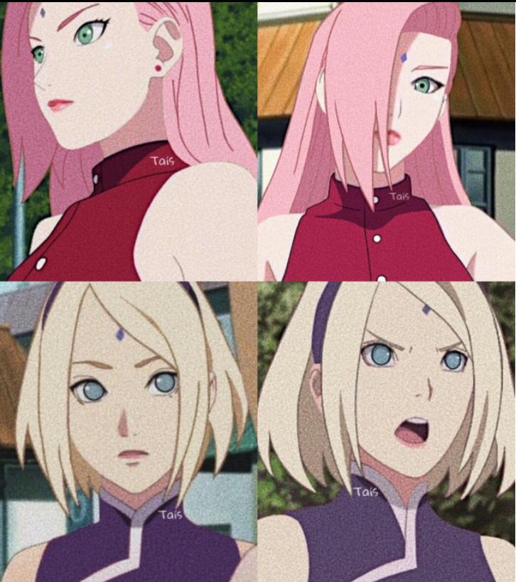 Sakura e Ino