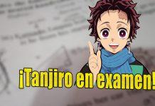 Tanjiro en examen