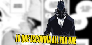 noticias anime all for one