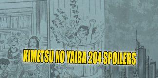 KIMETSU NO YAIBA 204 SPOILERS